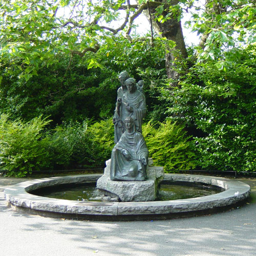 Fountain, St. Stephen's Green