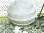Granite Sphere Water Feature