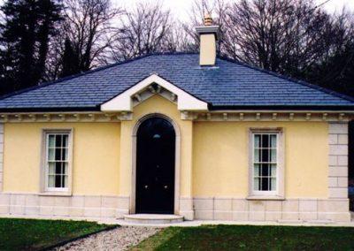 Granite Building Detailing