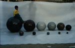 Polished Granite Spheres