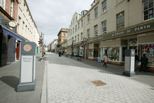 St. John's Street, Perth, Scotland