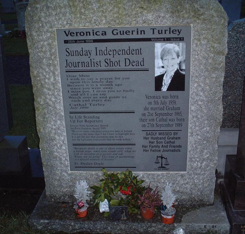 Veronica Guerin Turley Memorial