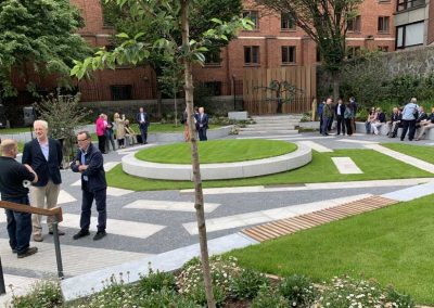 Flanders memorial for Peace Park – Dublin